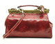 Tavoli - leather bag | Color Red | Back View