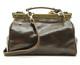 Tavoli - leather bag | Color Dark Brown | Back view