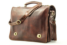 Nevio Double Compartment Messenger Bag - Brown | Detachable Shoulder Strap