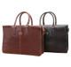 Handmade Italian Leather Double Gusset Bag | Group