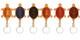 Handmade Italian Leather Key Chain | Group 2