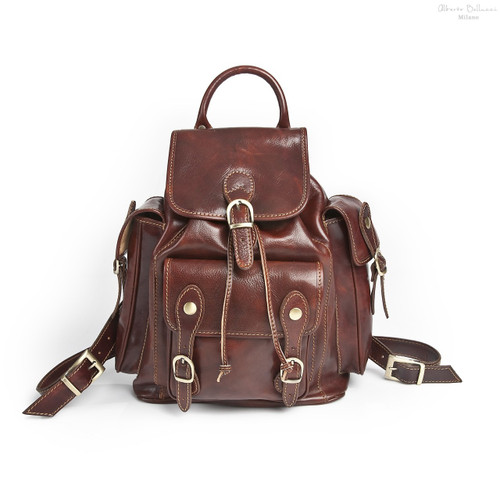 Vicenza Backpack - Brown
