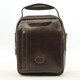 The Lugano Vertical Flap-Over Carry All Bag | Color Brown