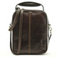 The Lugano Vertical Flap-Over Carry All Bag | Color Brown | Brown View
