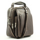 The Lugano Vertical Flap-Over Carry All Bag | Color Brown | Strap full View