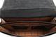 "Augustus 16"" Laptop Briefcase | Black | Inside Detail"