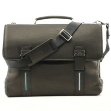 Falminio Laptop Bag | Black | Front