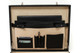 Venezia Grande Leather Attache Case | Cell phone, pens and credit card compartments | Color Black
