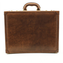 Venezia Grande Leather Attache Case | Color Brown