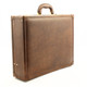 Venezia Grande Leather Attache Case| Color Brown