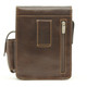 Torino Vertical Flap-Over Carry All Bag - Back View