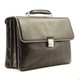 Tony Perotti Triple Compartment Briefcase - Side view