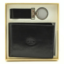 Tony Perotti Italy – Ultimo European Bi Fold Wallet and Key Chain gift set.