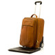 Muiska Leather Wheeled Traveler - Saddle