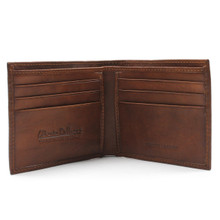 Milano - Billfold Wallet opened Brown