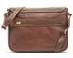 Lorenzo Messenger Bag PG000601 Brown Back