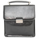 Capri Vertical Flap-Over Carry All Bag PI212005  | Black