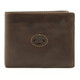 Prima Wallet with Removable Credit Card Case| Color Brown