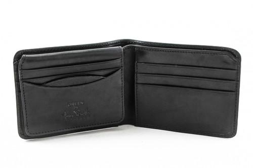 Prima Bi-Fold with ID Flap PG418201 | Color Black | Open