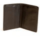 Prima Americano Front Pocket Credit Card Wallet PG413002 | Color Black | Front Open