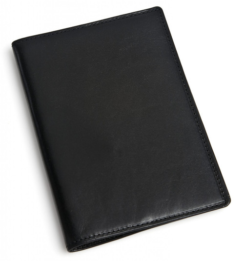 Passport Cover PI601301 Black Closed