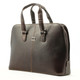 Classic Zip - Around Laptop Bag - brown side view