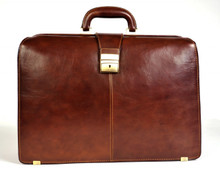"Benevento 17"" Triple Gusset Lawyers Briefcase"