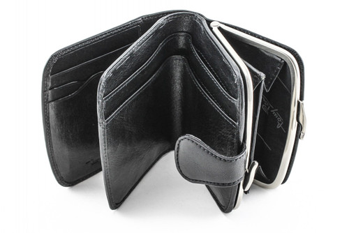 Ultimo Framed Coin Wallet With I.D