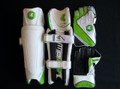 CHAMP EXCELLOUS Men's Cricket Wicket Keeping Pads & Gloves Set