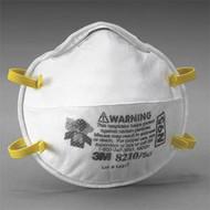 3M 8210 Plus N95 Disposable Particulate Respirator, 20/box