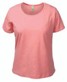 Akwa Ladies Stretch Jersey Scoop Neck Tee