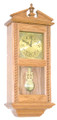 Rope Wall Windup Clock  by Buck Hollow Woodcraft