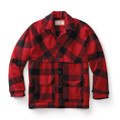 Red/ Black Double Mackinaw Cruiser - Alaska fit  *call/email for availability