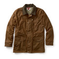 Filson Brown Cover Cloth Mile Marker Coat - Seattle fit