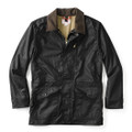 Filson Black Cover Cloth Mile Marker Coat - Seattle fit