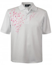 Breast Cancer Awareness Polo (PTM) | 5.0 oz, 100% Moisture Wicking Polyester