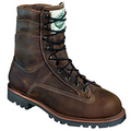 Construction: Leather Goodyear Welt Construction Insulation: 800 gram 3M™ Thinsulate™ Platinum Insulation  Lining: Dri-Lex®/Event WATERPROOF, Breathable Construction  Midsole: Rubber  Outsole: Vibram® Sierra Special Features: WATERPROOF, Breathable Construction. 3M™ Scotchgard™ Protector. Made in the USA