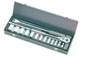 """16 Pc. 12 Point 1/2"""" Drive Socket Set in Case by Armstrong Tools"""