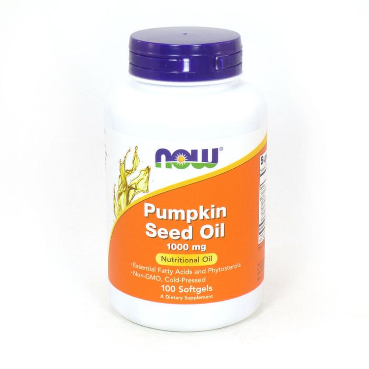 Pumpkin Seed Oil 1000 mg 100 Softgels - NOW Foods