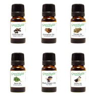 GreenHealth Holiday Essential Oil Gift Set (6 15ml Essential Oils)