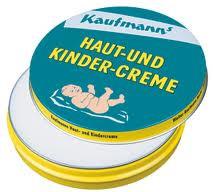 kaufmann 39 s haut und kinder creme skin and baby cream. Black Bedroom Furniture Sets. Home Design Ideas