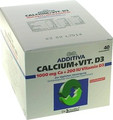 ADDITIVA Calcium 1000 Mg + Vit.d 3 Pulver 40 Stk