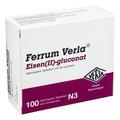 FERRUM VERLA Eisen II-gluconat ueberzogene Tab. 100 St