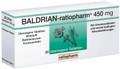 Baldrian Ratiopharm 450 mg Tabletten überzogen 60 Stk
