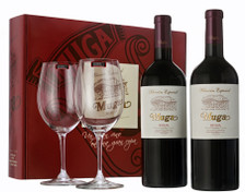 Muga Seleccion Especial 2010 Gift Box (Contains 2 bottles and 2 Riedel Glasses)