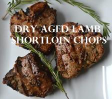 Dry Aged Lamb Chops is a Greek Marinade