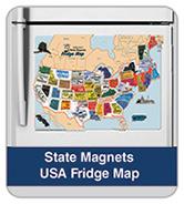 USA Fridge Map