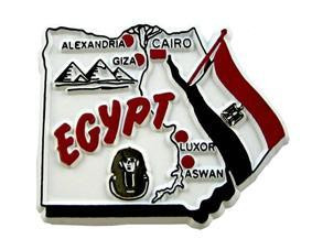 Egypt country shaped magnetic map