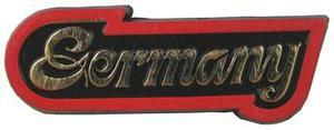Germany Script, Europe souvenir magnet