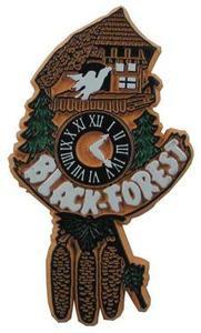 Cuckoo Clock Germany, Europe souvenir magnet